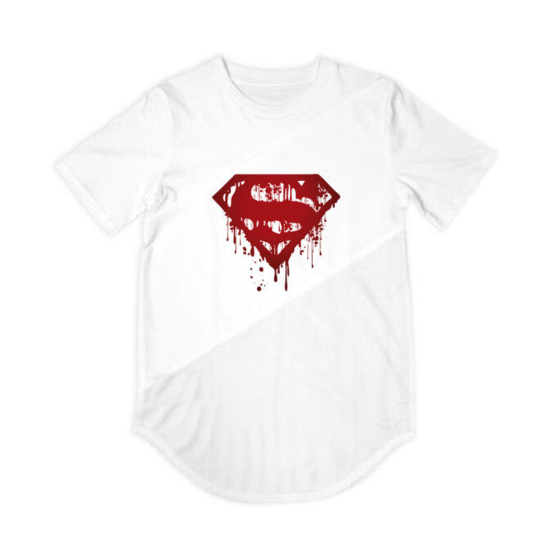"""Superman"" T-Shirt Black X White"