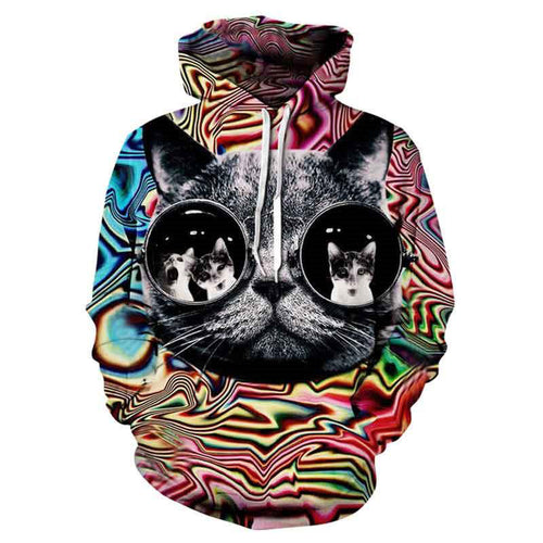 3D Animal Style Sweatshirts in different designs