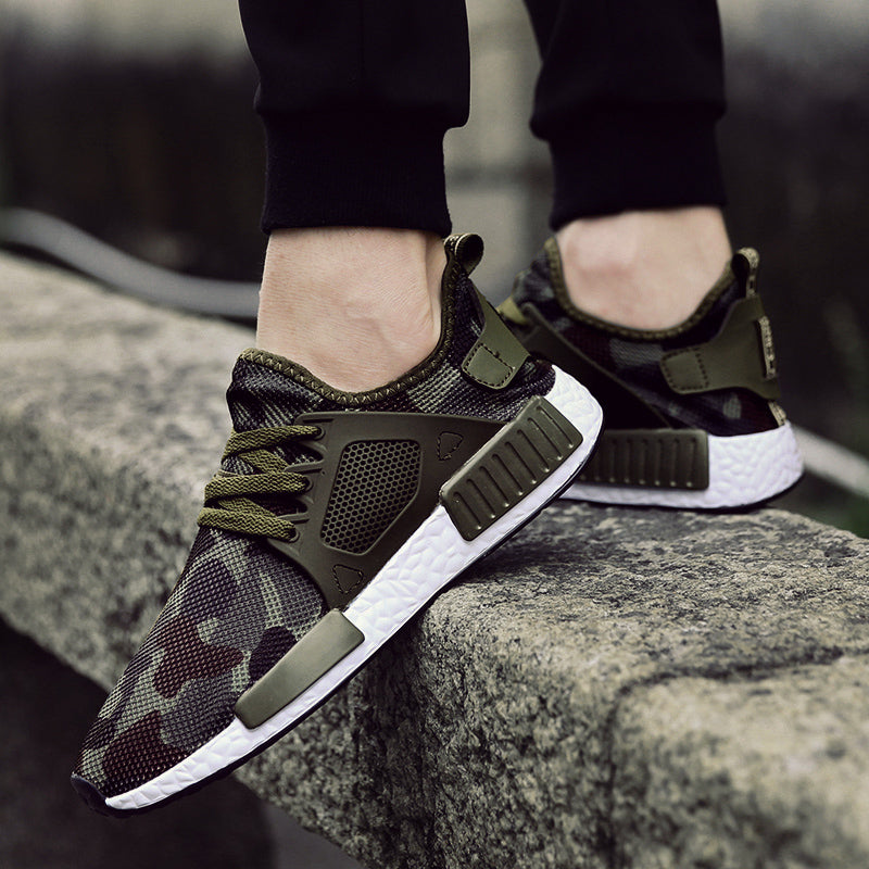 Military Camouflage Sneaker