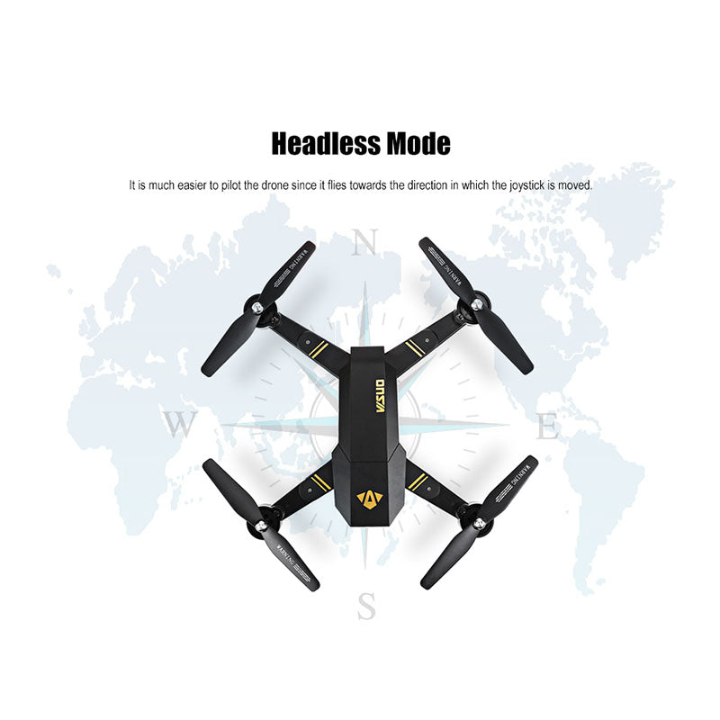 Foldable Drone with Wifi Camera Altitude Quadcopter