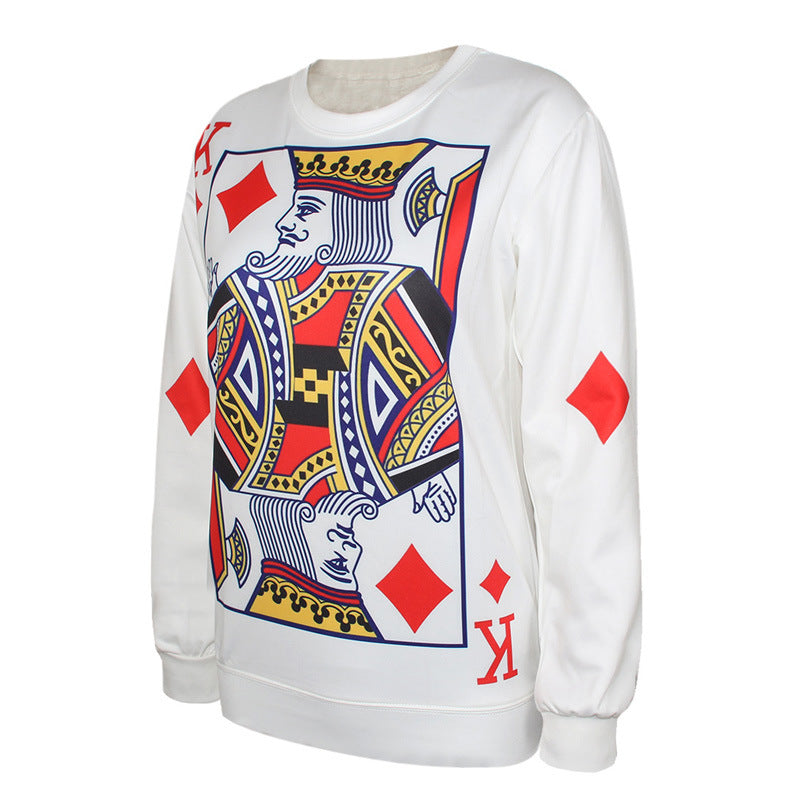 King Cards Pullover