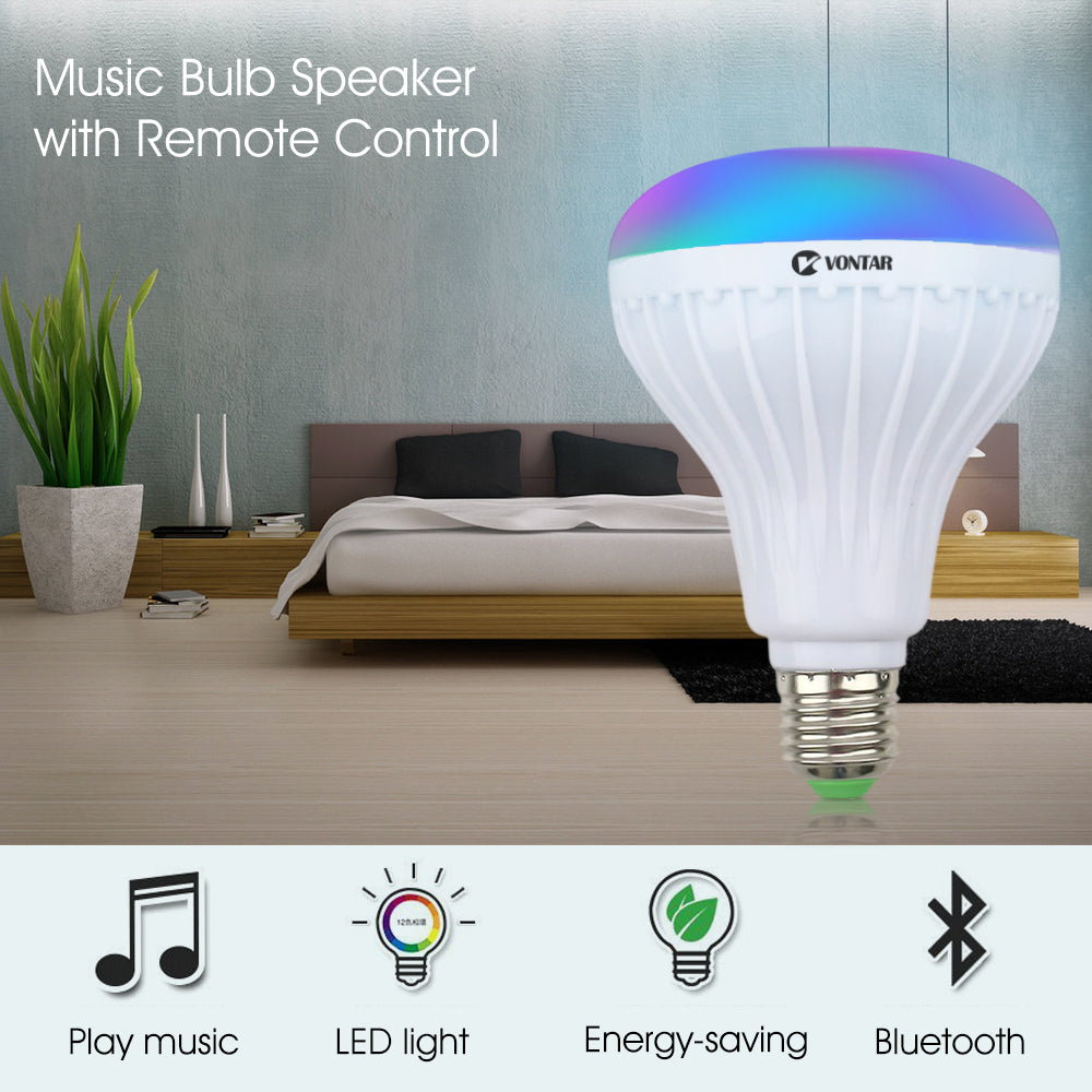 Bluetooth Speaker and LED Lamp