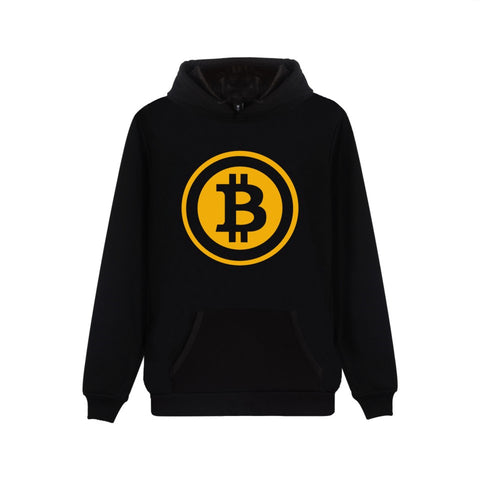 Bitcoin Hoodie / Pullover mit Kapuze
