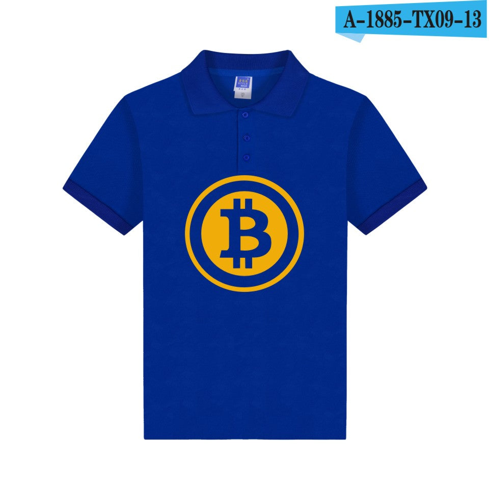Bitcoin Polo Shirt