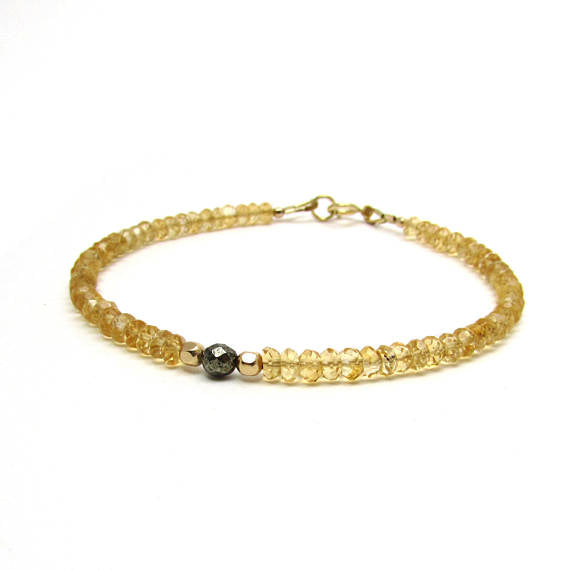 photo accessories natural citrine on s men bracelet p crystals fashion
