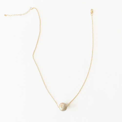 JACKIE aquaterra stone necklace