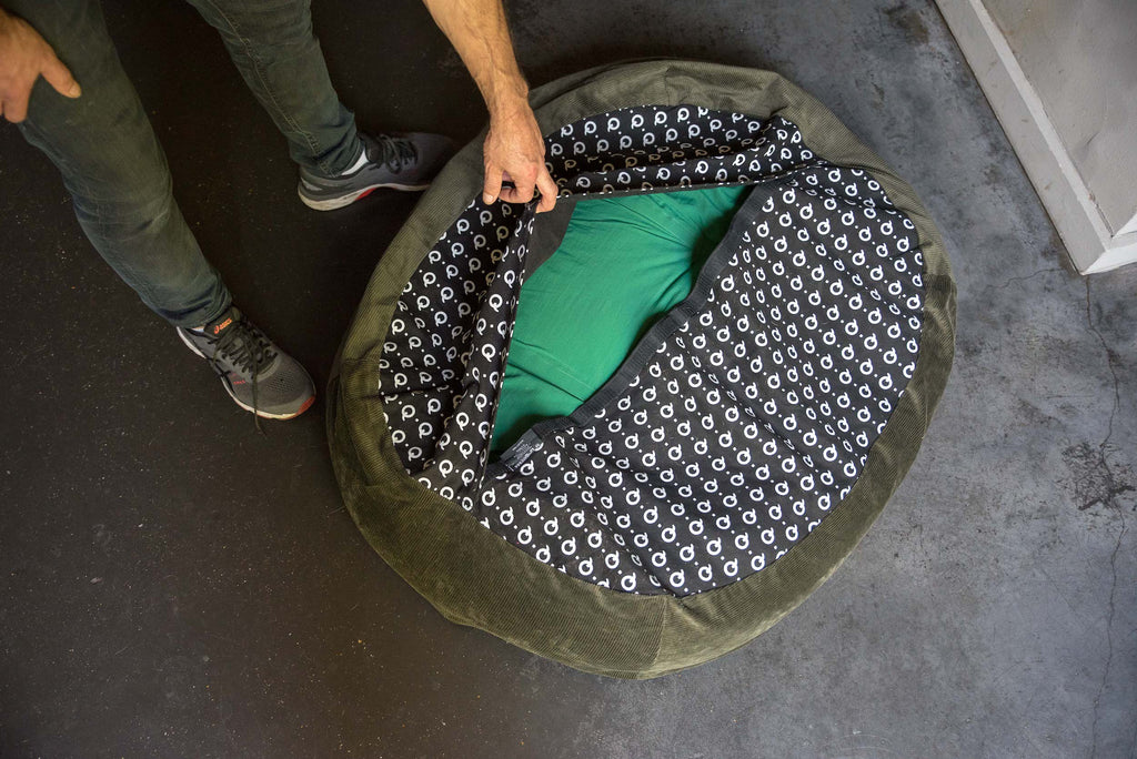 hindquarters dog bed