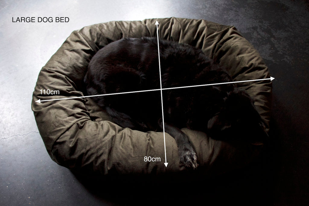 large bed for dog 110x80