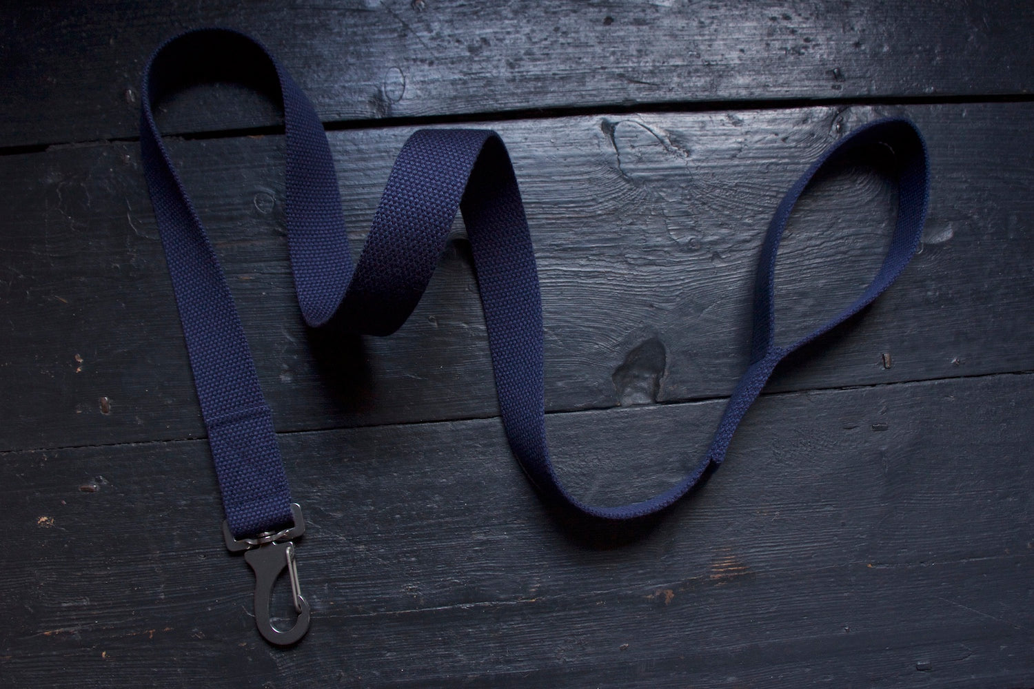 comfy navy dog lead