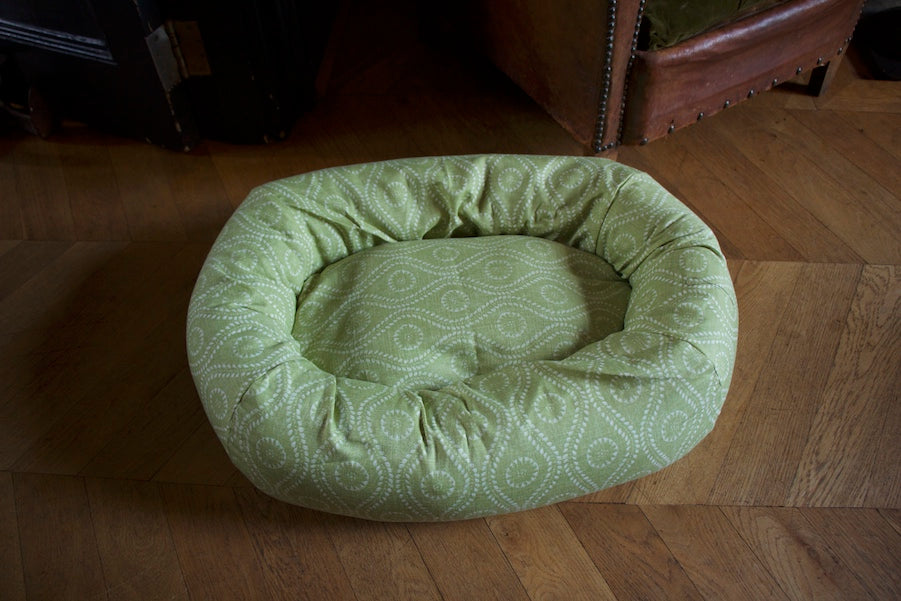 green bed for small dog