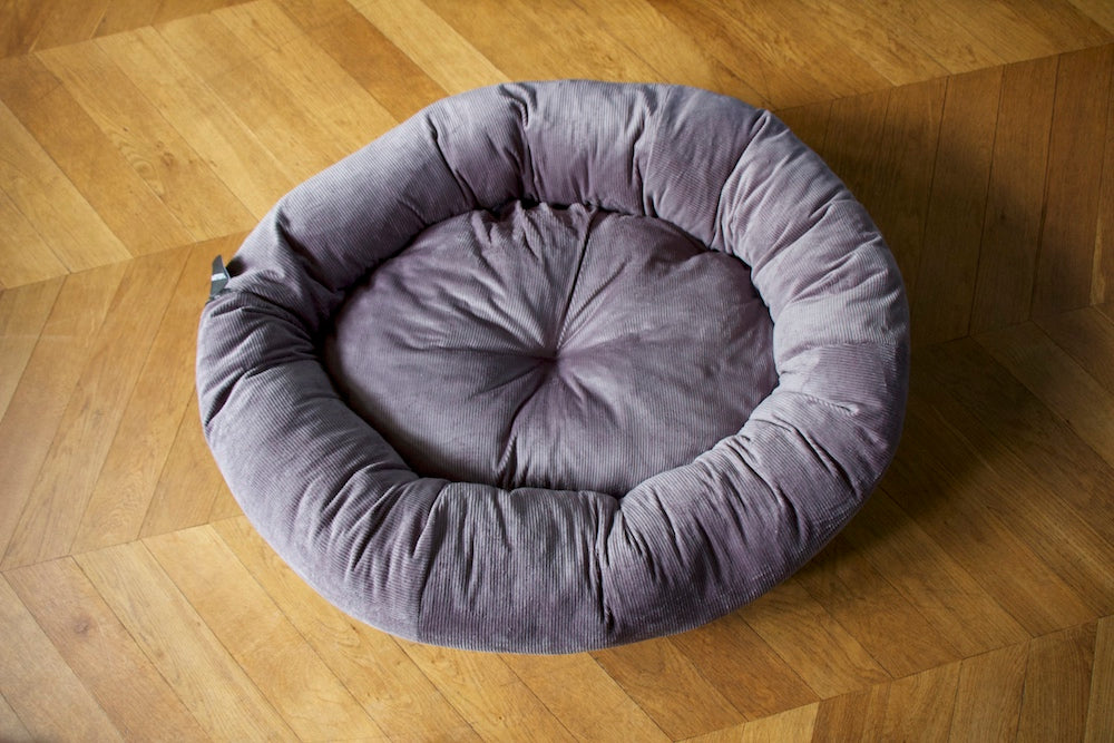 grey stuff it dog bed