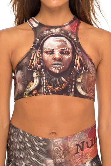 Odudua Round Neck Top