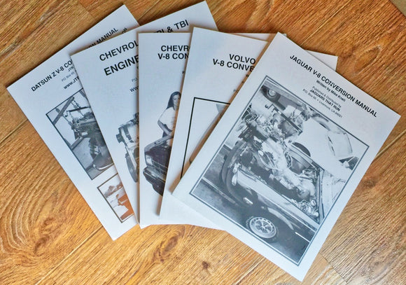 JTR V8 Conversion Manuals