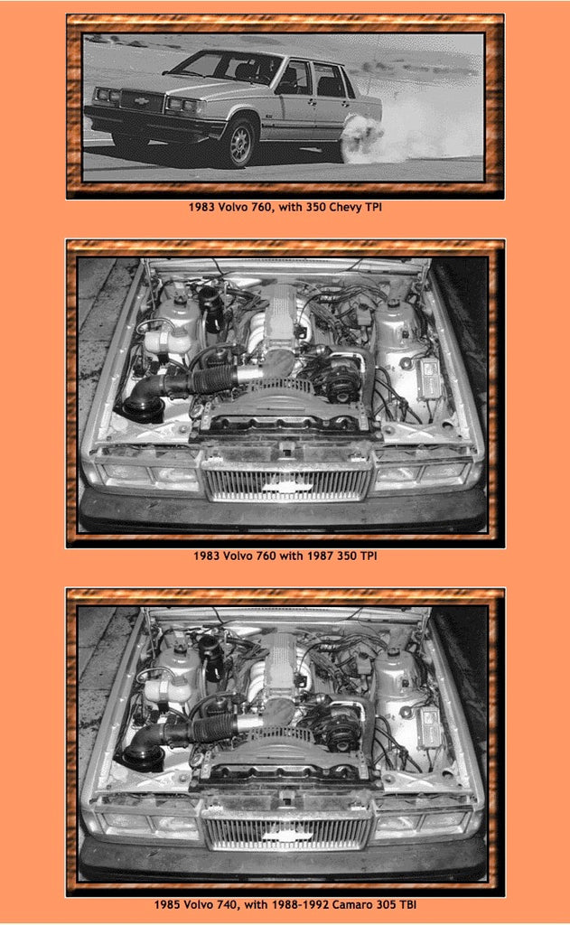 Volvo 700 Series Free Download: Engine Modification Instructions
