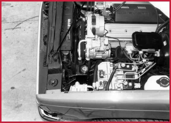"The engine compartment of ""Baby Thunder"" is packed full of options and accessories, Stealth Conversions"