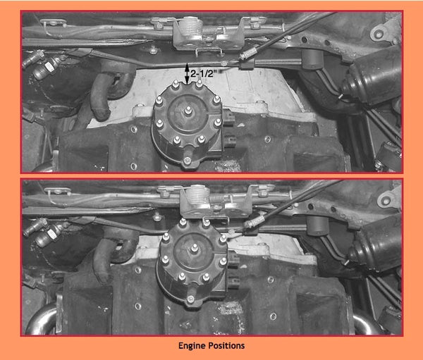 Datsun ZX Engine Positions, Stealth Conversions mounting kit