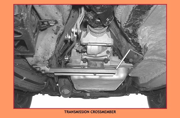 Volvo 700 transmission crossmember, Stealth Conversions