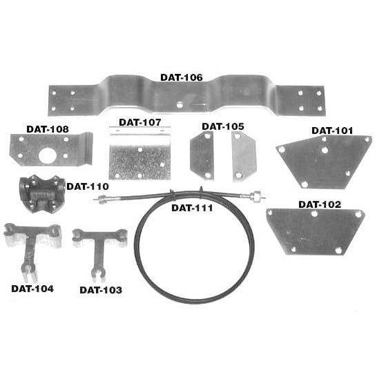 V-8 Mounting Kit for 1970–1978 Z Cars, Datsun Z V8 conversion Mounting Kit - V8 Swaps by JTR Stealth