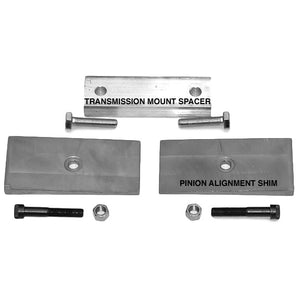 S10 2WD Driveshaft Alignment Kits for S-10 short-bed / short cab trucks including 4-cylinder, 6-cylinder, and V8 Pinion Alignment Shims - V8 Swaps by JTR Stealth