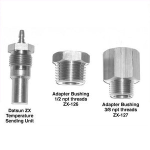 Water Temperature Sending Unit Adapter Datsun 280 ZX V8 Water Temp Adapter - V8 Swaps by JTR Stealth
