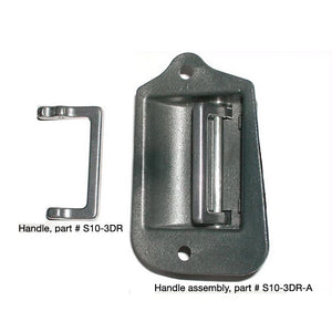 Aluminum third-door handle for 1996–2003 Chevy S10 & GMC Sonoma Handle - V8 Swaps by JTR Stealth