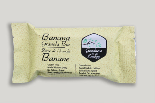 Organic Banana Granola Bar (Box of 12)