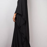 Kimono dress. Black. One Size.