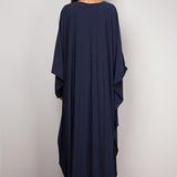 Kimono dress. Dark Blue.  One Size.