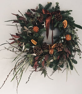 A handsome Christmas wreath