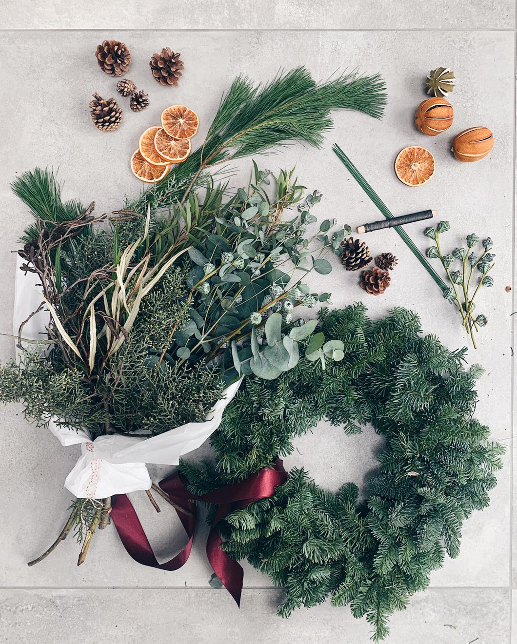DIY Wreath making kit from Petal and Pot