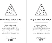 'How to eat your Christmas tree': supper club with the Bread Companion