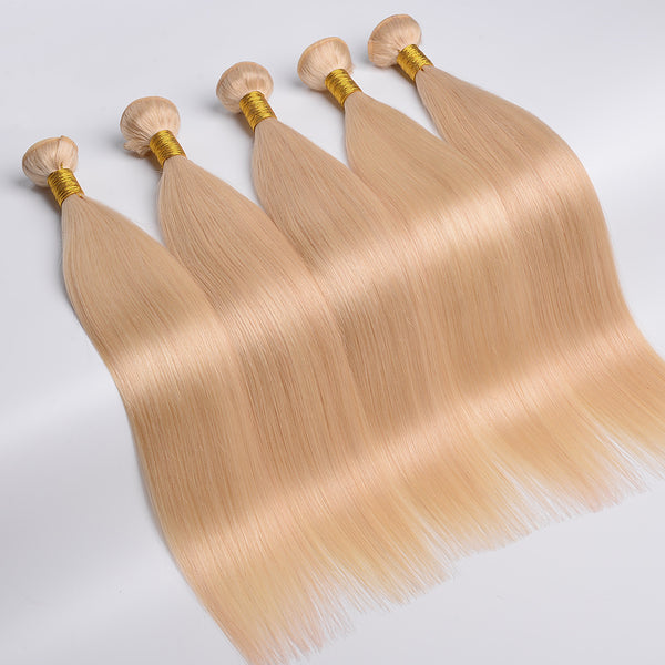 Blond Straight Bundles
