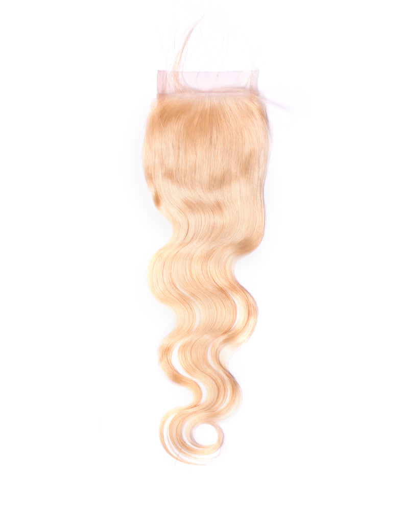 Closure Blond Bodywave