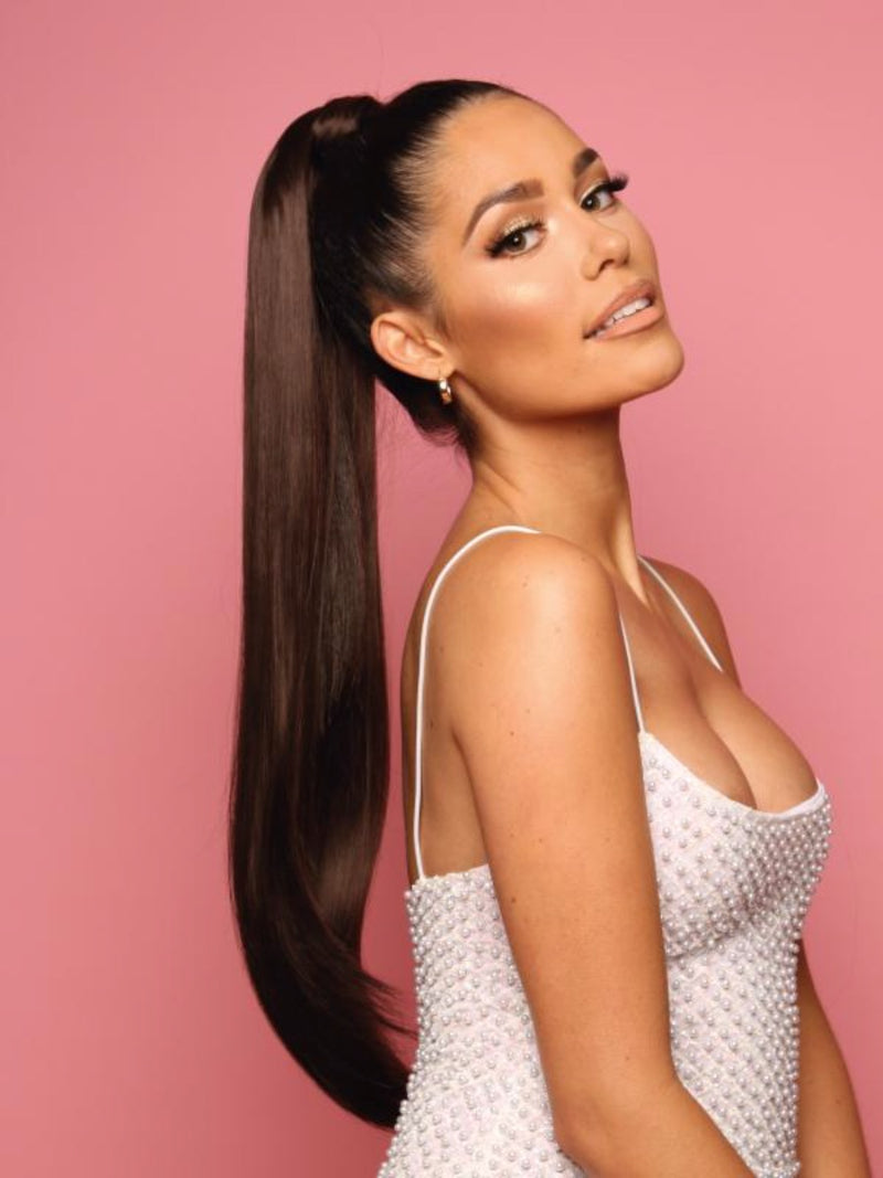 Sleek Full Wraparound Ponytail