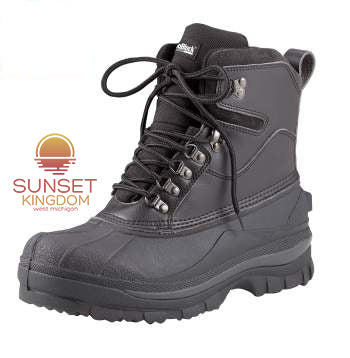 "Sunset Kingdom 8"" Extreme Cold Weather Hiking Boots"