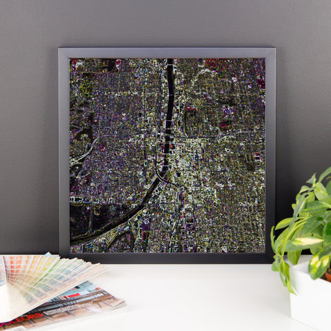 Downtown Grand Rapids Framed Print