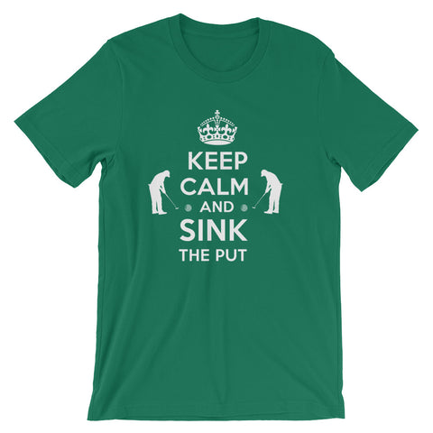 Keep Calm and Sink the Put Short-Sleeve Unisex T-Shirt
