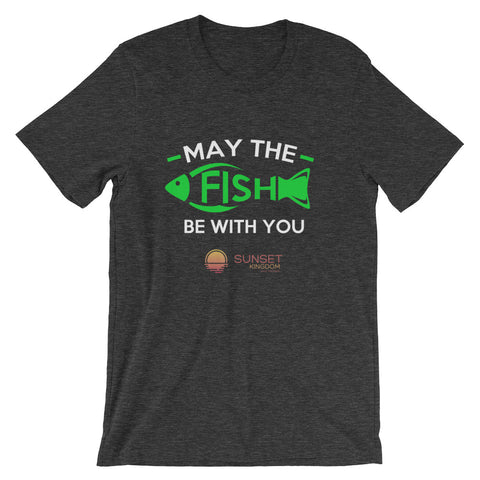 May the Fish be With You Short-Sleeve Unisex T-Shirt