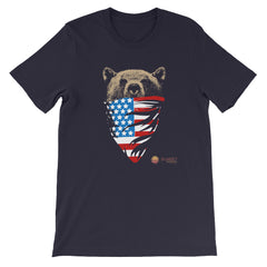 Michigan Strong Bear Short-Sleeve Unisex T-Shirt