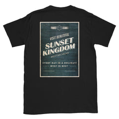 Sunset Kingdom Short-Sleeve Unisex T-Shirt
