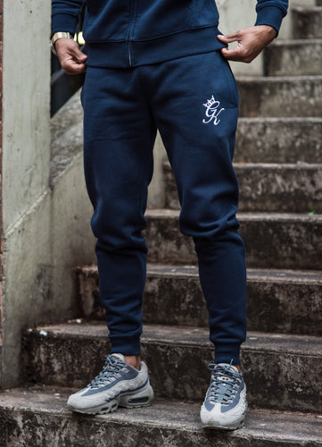 Gym King Tracksuit Bottoms – Blue Nights
