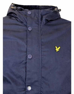 Lyle & Scott 'Micro Fleeced' Jacket - Navy