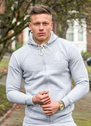 Gym King Core Tracksuit Top - Grey