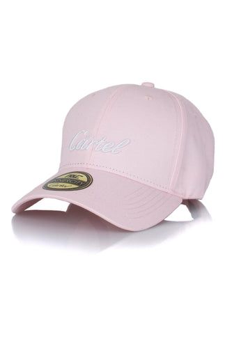INNERCITY CARTEL STRAPBACK CAP - PINK