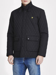 Lyle & Scott Quilted Jacket - Black