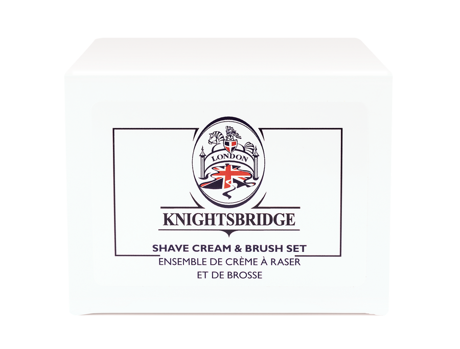 Knightsbridge Gift Set with Shaving Cream & Brush