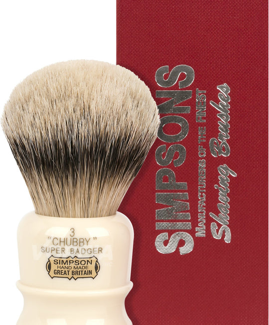 Simpsons Chubby Shaving Brushes