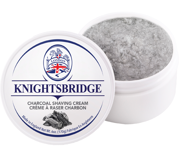 Knightsbridge Charcoal Shaving Cream