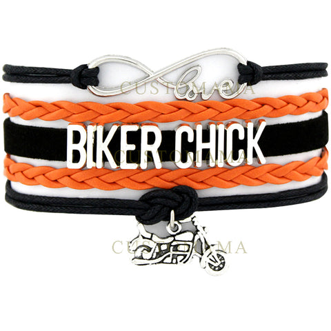 Infinity Love Biker Chick Bracelets For Women