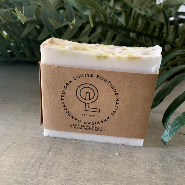 Yucca Root Soap - Sage Mint Basil Scent